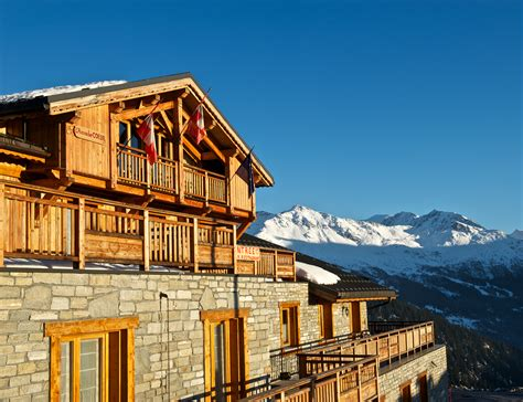 hotel accroche coeur la rosiere ski accommodation peak retreats