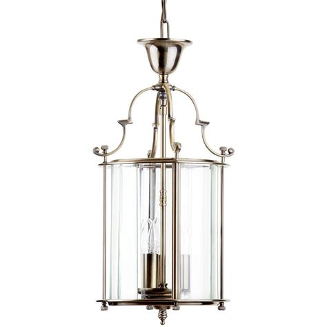 Lancashire Small 3 Light Ceiling Pendant Lantern  Antique