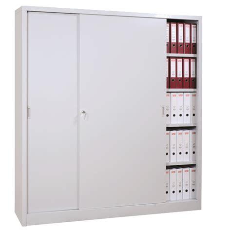 armoire bureau porte coulissante armoire haute métallique à portes coulissantes armoires