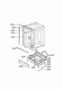 Exploded View Diagram  U0026 Parts List For Model Ldf6920ww Lg