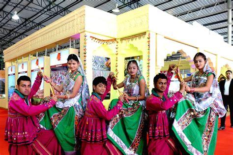 'Dandiya' during 'Travel and Tourism Fair'