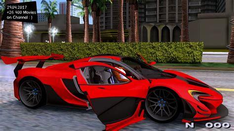 Mclaren P1 Gtr 2015 New Enb Top Speed Test Gta Mod Future