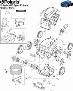 Polaris 9550 Sport Robotic Parts Diagram