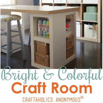 Craftaholics Anonymous®  Craft Room Tour Dinah At Diy