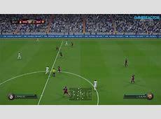 FIFA 16 Gameplay partido Real Madrid vs Barcelona