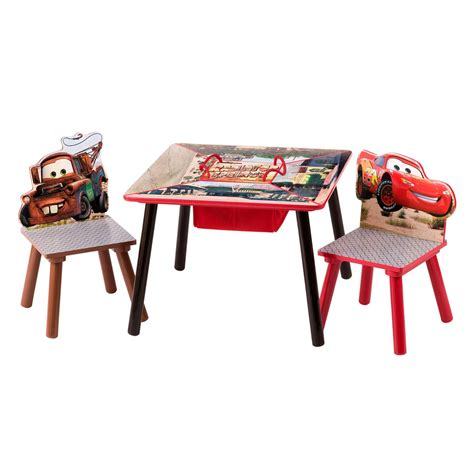delta children cars storage table and chair set baby