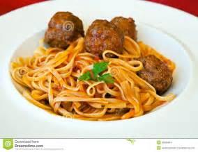 Pasta Spaghetti and Meatballs Clip Art