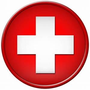 Round red cross symbol clipart image - ipharmd.net