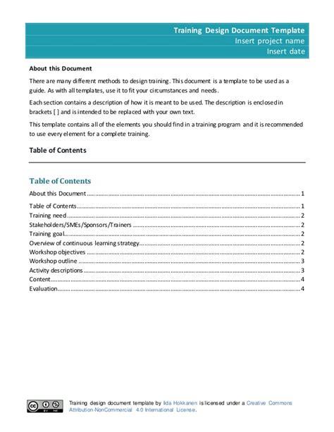 Design Document Template Design Document Template 2