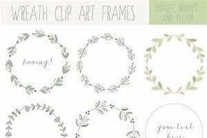Handdrawn Laurel Wreath Clip Art ~ Illustrations ...