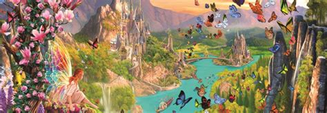 puzzle fairy land jumbo   pieces jigsaw puzzles