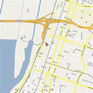 Downtown Memphis Map