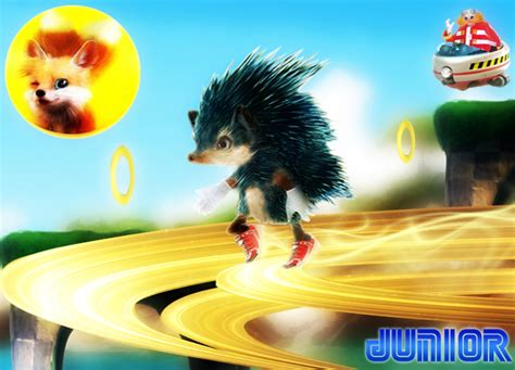 Real Sonic The Hedgehog By Jrclerk On Deviantart