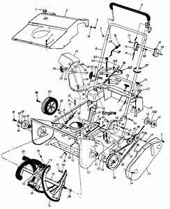 Craftsman Sears Craftsman 20 U0026quot  Snow Thrower Parts