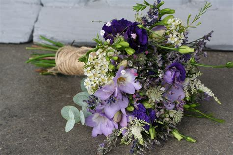 Purples In Painswick Erin And Steves Rustic Wedding