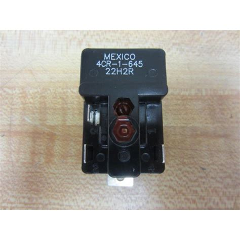 Electric Motor Relay by Klixon 4cr 1 645 Motor Starting Relay 40497 Mara Industrial