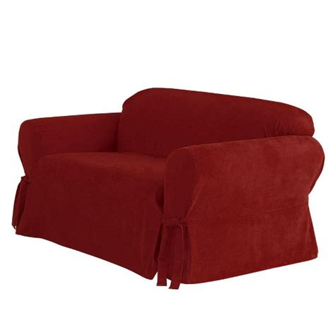 sure fit sofa covers target suede sofa slipcover sure fit target