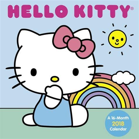 kitty wall calendar