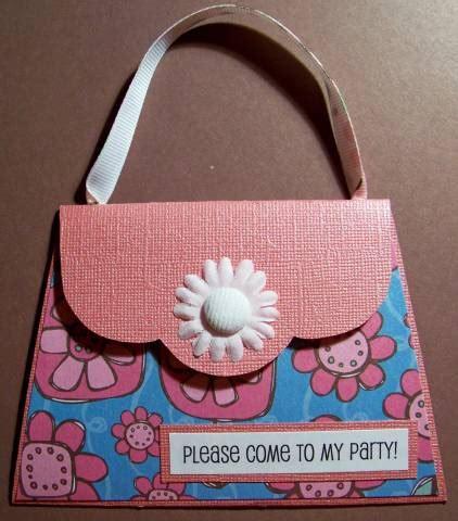 purse party invitation  kaitysmom  splitcoaststampers