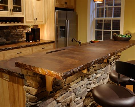 stained concrete countertops stained sted concrete transform your home de
