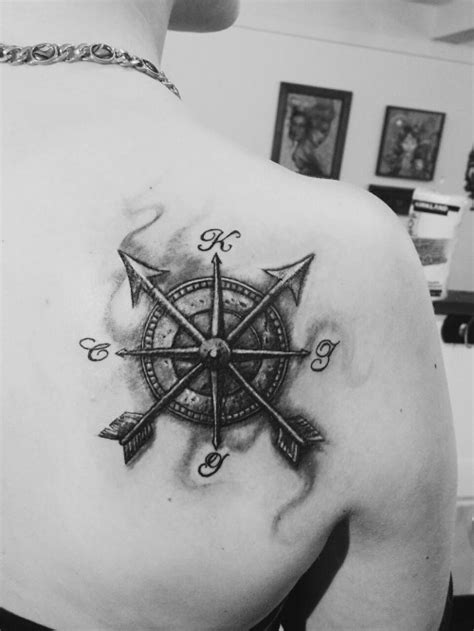 arrow compass tattoo tumblr