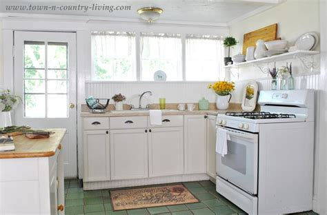 Summer In A Farmhouse Country Kitchen  Town & Country Living