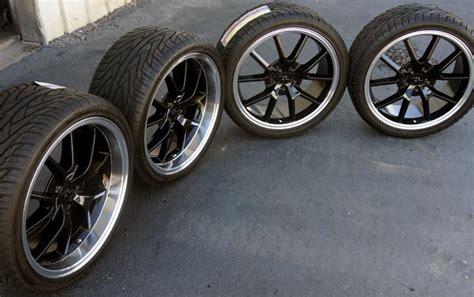 Buy Black Fr500 Mustang Fr500 Wheels 20x8.5 & 20x10 And
