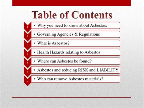 asbestos awareness  contractors introduction