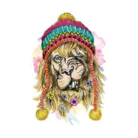 tatouage temporaire lion hippie signification tatouages