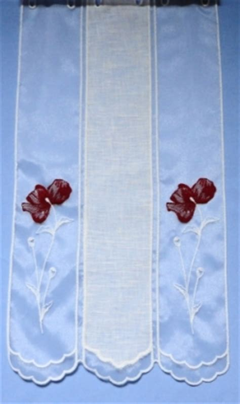 rideaux voilage rideau brode  macrame