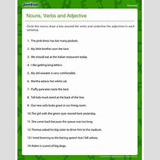17 Best Images About Nounverbadjective Activities On Pinterest  Literacy Centers, Adjectives