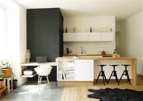 bureau de salon design 12 idées pour aménager un bureau dans salon femme