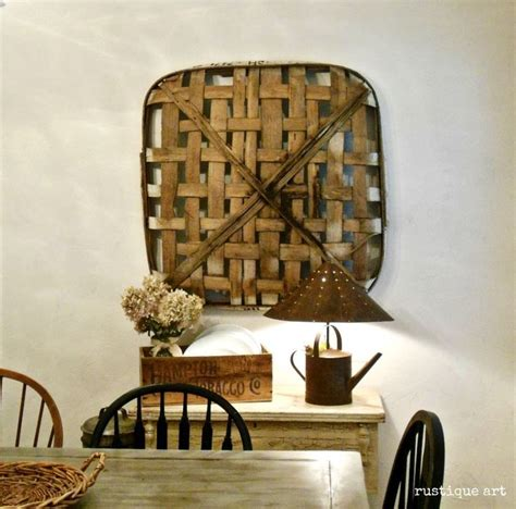 5 boho diy home decor / wall hanging and baskets. rooms decorated with tobacco basket   the tobacco basket   Baskets   Pinterest   Home decor tips