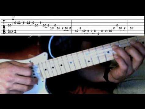 Tnt guitar solo lesson videos