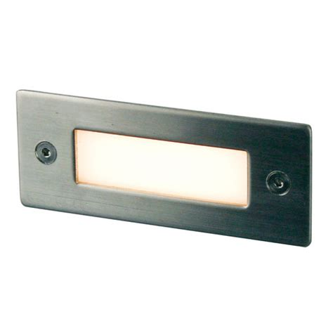 slot recessed 12 led wall light zizo