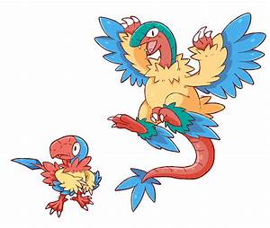 Archen And Archeops Pokemon Images | Pokemon Images