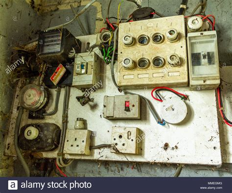Electric In Fuse Box by Electrical Fuse Box Stock Photos Electrical Fuse