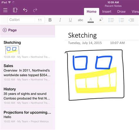 onenote for android microsoft merges onenote for and iphone into one ios