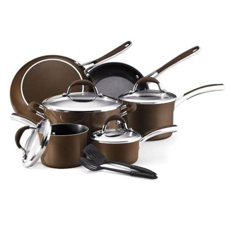 friday cookware affiniti farberware piece bronze