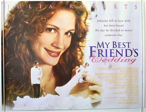 my best friend s wedding original cinema poster