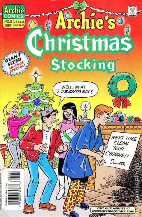 archies christmas stocking  comic books