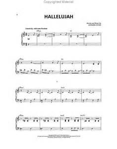 Partitions : Leonard Cohen - Hallelujah (SAB, Piano)