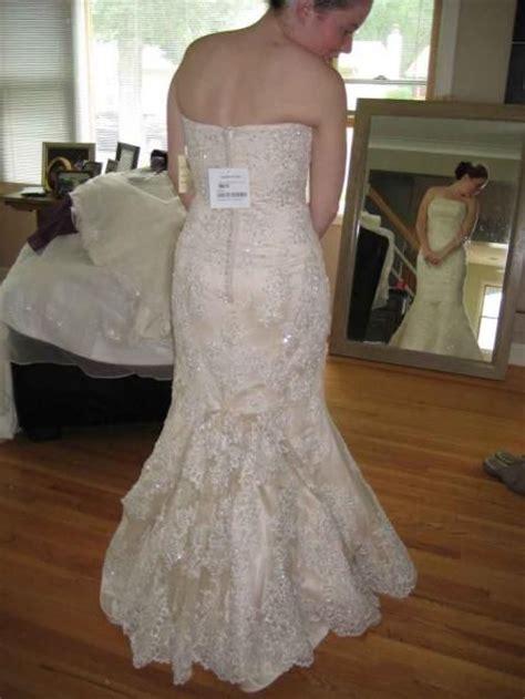 5 Point French Bustle Wedding Dress Bustle Wedding Gown
