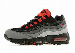 Nike Air Max 95 Wolf Grey Universal Red JD Sports
