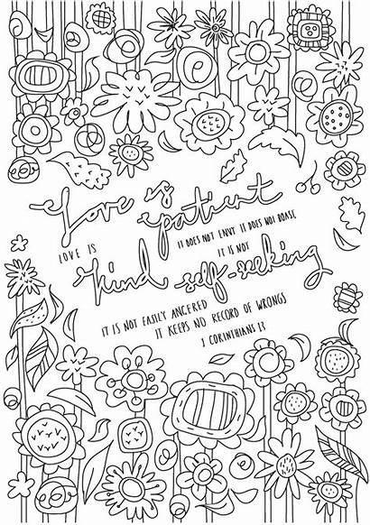 Christian Colouring Sheets Text Pack Flyer Poster