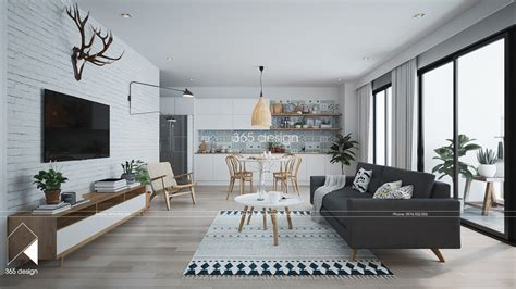 Scandinavian Home Style : Modern Scandinavian Design For Home Interior Completed