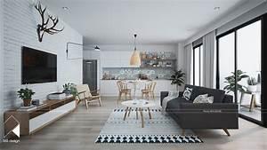 Modern Scandinavian Design for Home Interior Completed ...