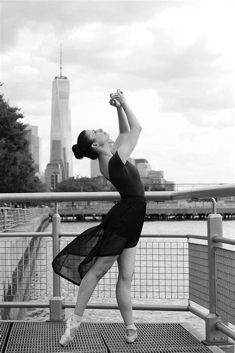 refined ballerina photography stage street