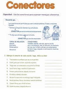 Conectores para niños 4° Grado Primaria Razonamiento