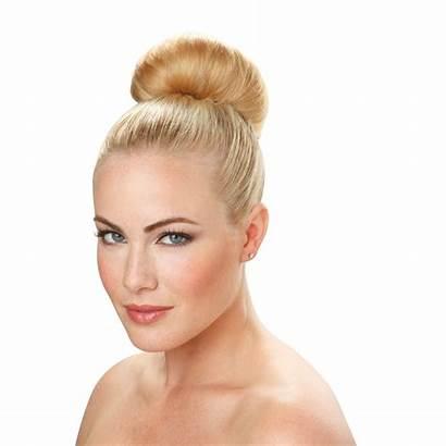 Bun Hair Blonde Buns Donut Jml Styling